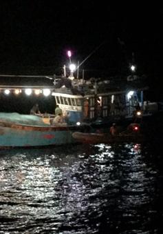 Cứu thuyền viên tàu cá Đà Nẵng gặp nạn trên biển