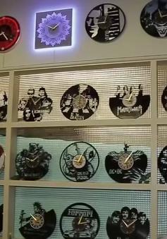 Biến đĩa than thành đồng hồ