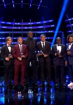 Lộ diện đội hình xuất sắc nhất năm của FIFA: De Gea, Kante, Hazard lần đầu được vinh danh