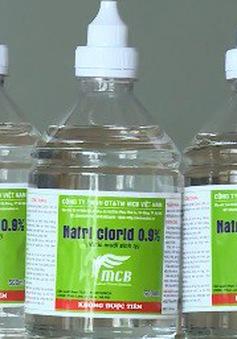 Nhiều loại nước muối sinh lý không đảm bảo vệ sinh