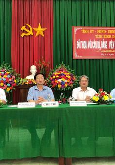 Bình Định tiếp tục đối thoại với dân về triển khai dự án điện mặt trời