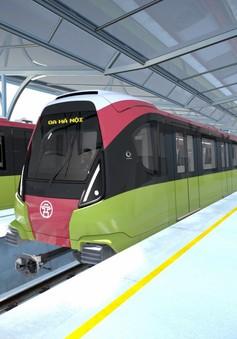 VIDEO: Đoàn tàu metro số 3 Nhổn – ga Hà Nội có thiết kế hiện đại, mang màu nông sản Việt