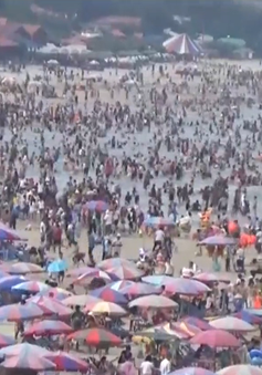 Vũng Tàu: Hàng chục trẻ em bị lạc cha mẹ khi tắm biển 2 ngày nghỉ lễ