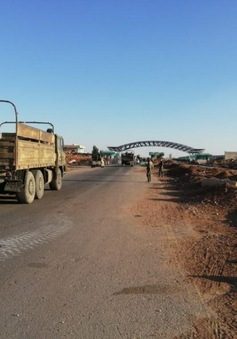 Mở lại cửa khẩu huyết mạch trên tuyến biên giới Syria - Jordan
