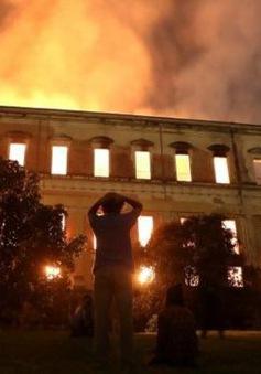 Brazil điều tra vụ cháy thiêu rụi Viện Bảo tàng Quốc gia 200 năm tuổi