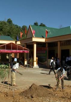 Khánh thành ngôi trường ở làng Khe Chữ, Quảng Nam sau sạt lở