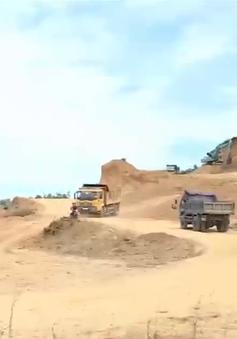 Nguy cơ tai nạn tại các mỏ đất ở Hà Tĩnh