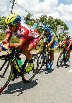 Kết quả Chặng 7 Giải xe đạp quốc tế VTV Cúp Tôn Hoa Sen 2018 từ TP Huế đến TP Đà Nẵng: Ronald Oranza bứt tốc ngoạn mục
