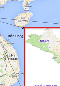 Mưa lớn ở Nghệ An - Quảng Bình