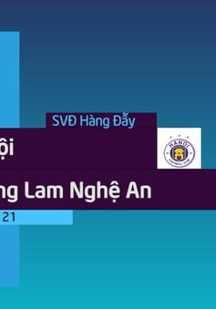 VIDEO: Tổng hợp diễn biến CLB Hà Nội 2-0 SLNA (Vòng 21 Nuti Café V.League 2018)