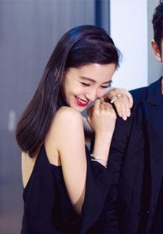 Angelababy bật khóc khi xem phim mới của Huỳnh Hiểu Minh