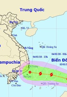 Các tỉnh, thành phố từ Đà Nẵng đến Kiên Giang chủ động ứng phó áp thấp nhiệt đới