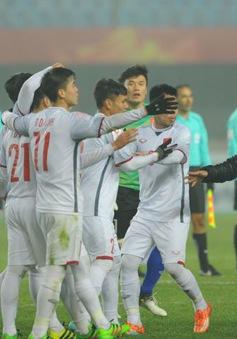 ẢNH: U23 Việt Nam lập kỳ tích lịch sử vào tứ kết U23 châu Á
