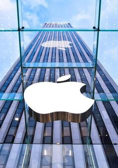 Cổ phiếu của Apple tăng kỷ lục