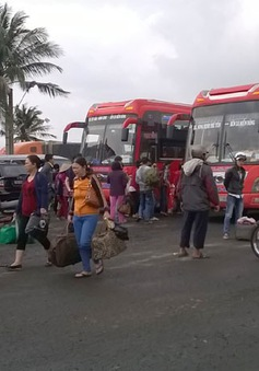 Giá vé xe dịp lễ, Tết tăng bất thường, người dân Phú Yên bức xúc