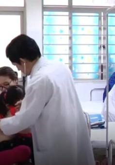 Bệnh nhi cúm phải nhập viện tăng cao