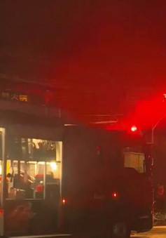 Khánh Hòa: Nổ bình gas, 2 chiến sĩ cứu hỏa bị bỏng