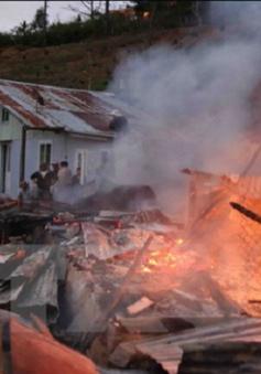 Khánh Hòa: Cháy lớn trong khu dân cư, 2 người thương vong