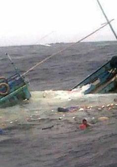 Tàu chìm, 11 ngư dân Việt Nam được cứu, 2 người mất tích