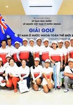 Giải Golf người Việt Nam ở nước ngoài toàn thế giới 2018