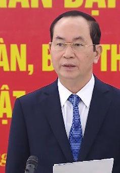Chủ tịch nước làm việc với Hội Luật gia Việt Nam