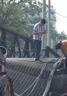 Cần hơn 500 tỉ xây mới cầu Long Kiểng vừa bị sập