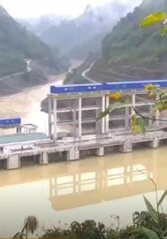 Hôm nay (7/1), đoàn kiểm tra của Bộ Công Thương làm việc với Nhà máy thủy điện Bắc Mê