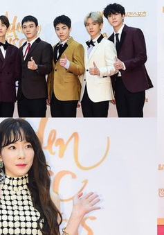 Dàn sao Hàn tề tựu trên thảm đỏ Golden Disc Awards