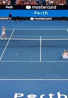 VIDEO: Federer và Sock khiến bạn đánh cặp ngao ngán rời sân