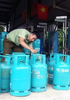 TP.HCM: Phát hiện điểm sang chiết gas lậu