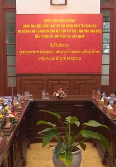 Hội đàm Tòa án Nhân dân Tối cao Việt - Lào