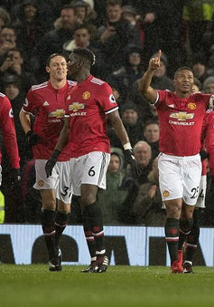 Manchester United thắng thuyết phục Stoke City