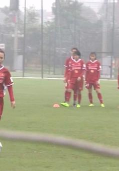 ĐT nữ Việt Nam rèn thể lực cho giải bóng đá nữ VĐ châu Á 2018