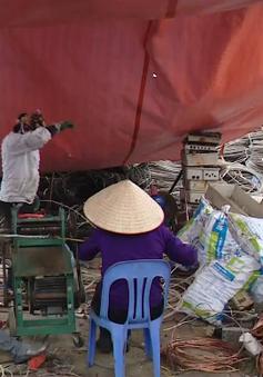 Rà soát các cơ sở thu mua phế liệu sau vụ nổ kinh hoàng ở Bắc Ninh