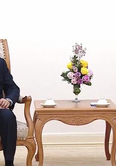 Phó Thủ tướng Trương Hòa Bình tiếp Chánh án Tòa án nhân dân Tối cao Lào