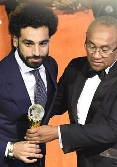 Salah giành danh hiệu Cầu thủ xuất sắc nhất châu Phi 2017