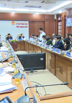 Quảng Nam hội nghị trực tuyến đánh giá tình hình kinh tế xã hội