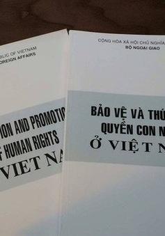 Việt Nam không ngừng nỗ lực trong việc bảo đảm, thúc đẩy quyền con người