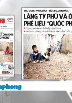 Vụ nổ ở Quan Độ, Bắc Ninh: Nỗi đau trong thời bình ở các cơ sở thu mua phế liệu