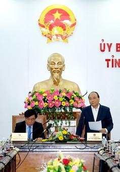 Thủ tướng Chính phủ thăm và làm việc tại Bình Định