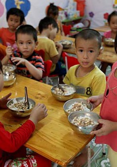 Trẻ mẫu giáo được hỗ trợ tiền ăn trưa bằng 10% mức lương cơ sở
