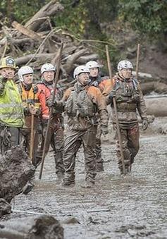 Gia tăng số người thiệt mạng do lở đất tại California