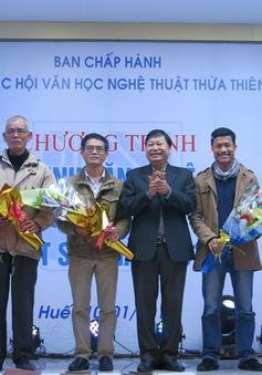 Thừa Thiên - Huế tôn vinh văn nghệ sỹ đạt giải thưởng cao