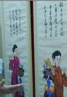 Triển lãm tranh Tết truyền thống Việt - Trung tại Bắc Kinh
