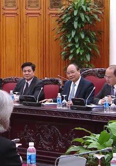 Thủ tướng Nguyễn Xuân Phúc tiếp đoàn đại biểu Hiệp hội Luật sư Hoa Kỳ