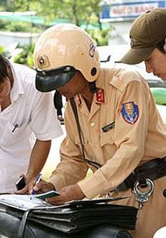 Tước quyền sử dụng giấy phép lái xe 1.147 trường hợp vi phạm giao thông