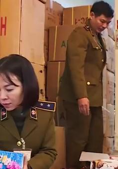 Bắt giữ hàng tấn bánh kẹo dành cho trẻ em giả nhãn mác Thái Lan, Hàn Quốc