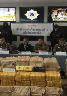 Thái Lan thu giữ hơn 300kg ma túy đá