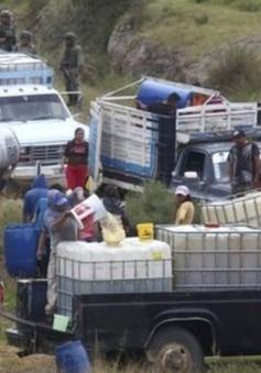 Mexico thiếu cung ứng xăng tạm thời