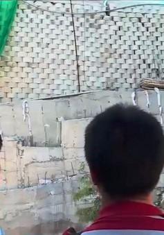 Tháo dỡ công trình sai phép khu biệt thự nghỉ dưỡng Đồi Xanh, Nha Trang